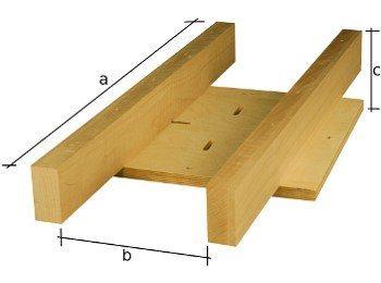 Antike Tischbeine aus Massivholz