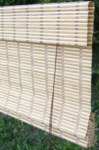 Bamboo roman blinds sign 2r