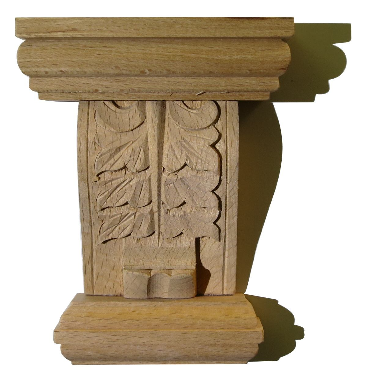 Carving for cabinetmaker made to measure wood appliques