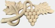 Holz Applikationen-Aufsatzelemente aus Holz