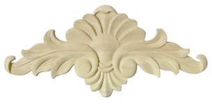 wooden rosette - wooden ornaments