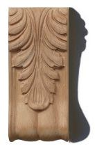 carved column end