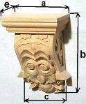 Holzabschlußelemente